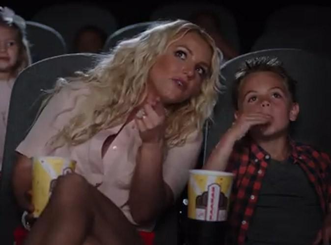 """Vidéo : Britney Spears : avec ses deux adorables fistons dans le clip d'""""Ooh La La""""  !"""