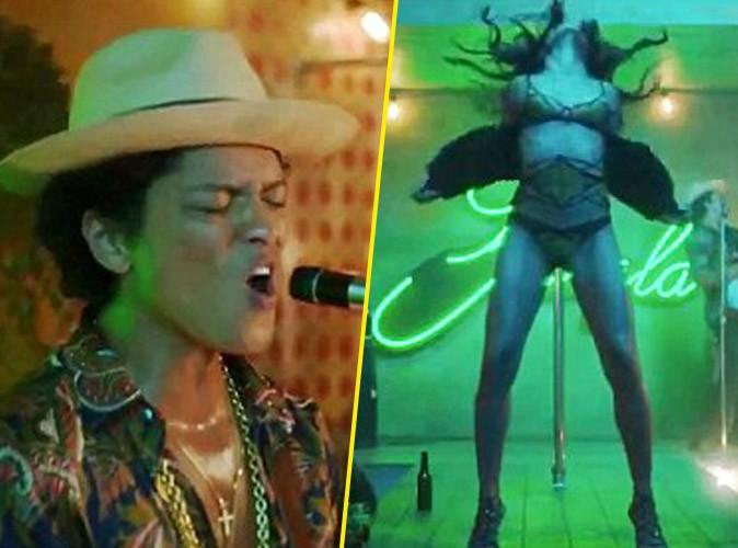 Vidéo : Bruno Mars : il fait de Freida Pinto sa sulfureuse strip-teaseuse dans le clip de Gorilla !