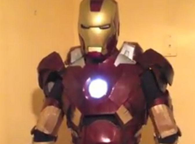 Vidéo Buzz : Iron Man réalise le souhait de Noël d'un enfant autiste…