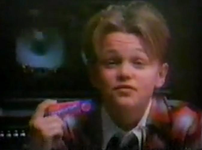 Vidéo Buzz : Leonardo Di Caprio : à 14 ans, il était la star du chewing-gum !