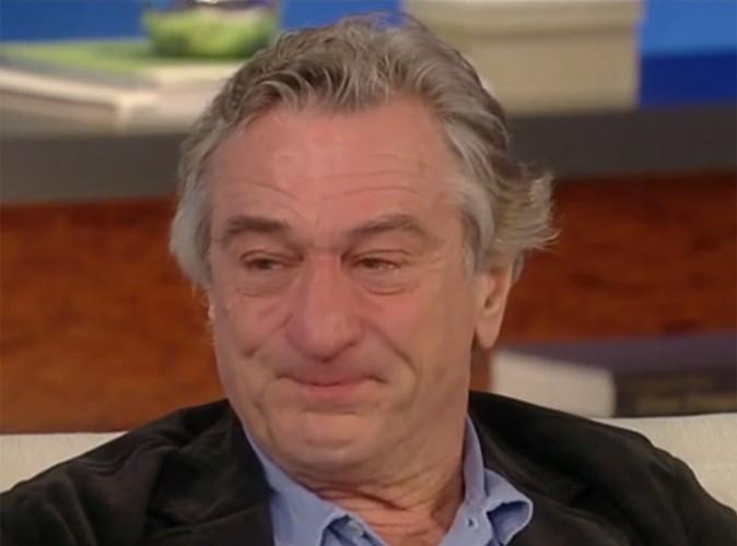 Vidéo Buzz : les larmes de Robert De Niro !