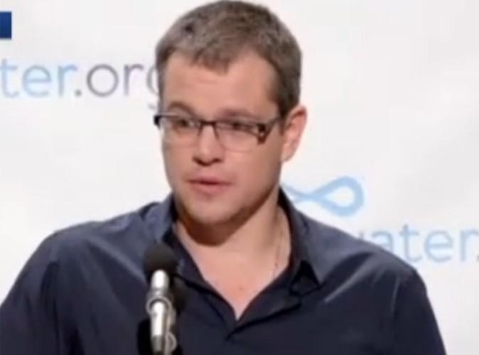Vidéo Buzz : Matt Damon n'irait plus jamais aux toilettes!