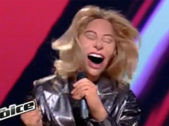 Vidéo Buzz : Sophie Tapie de The Voice a droit à son guignol !