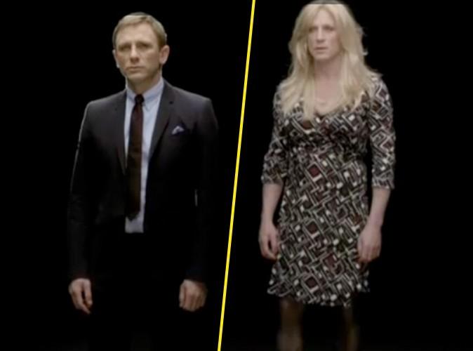 Vidéo : Daniel Craig travesti en femme !
