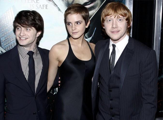 Vidéo : Daniel Radcliffe, Rupert Grint, Emma Watson : les acteurs d'Harry Potter font leurs adieux...