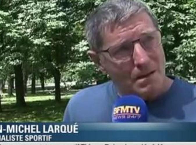 Vidéo : décès de Thierry Roland : l'émouvante réaction de Jean-Michel Larqué ...