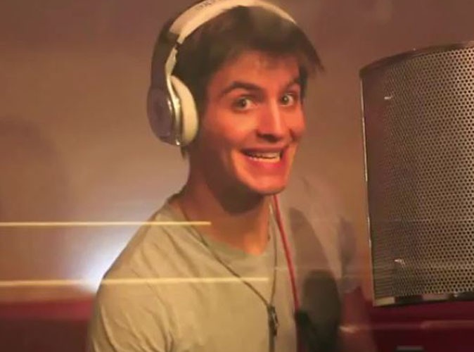 Vidéo : Florian Giustiniani (X Factor) enregistre son premier album !