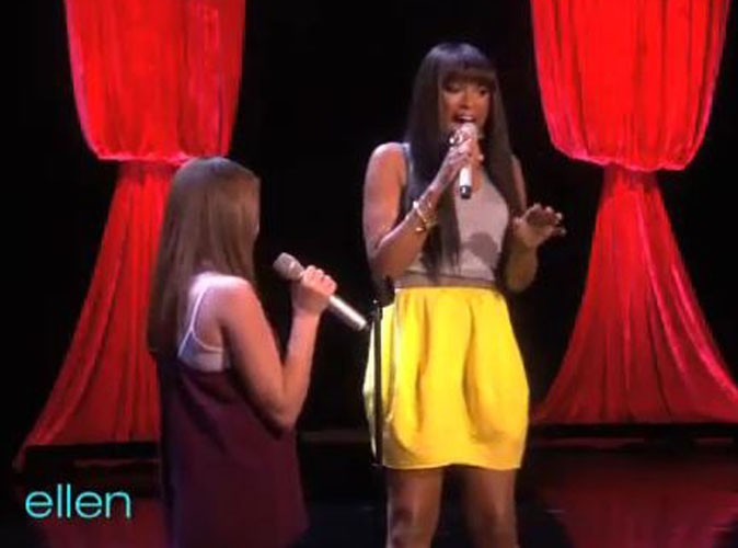 Video : Jennifer Hudson en duo avec Savannah Robinson, la prodige de 12 ans !