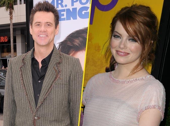 Vidéo : Jim Carrey : fou de la belle Emma Stone, il lui fait une déclaration d'amour étonnante !
