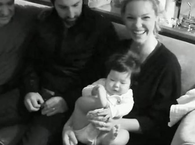 Vidéo : Katherine Heigl : son mari dédie sa nouvelle chanson à leur fille Naleigh !