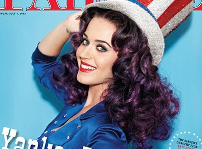 Vidéo : Katy Perry : la sublime créature incarne le rêve américain le temps d'un shooting !