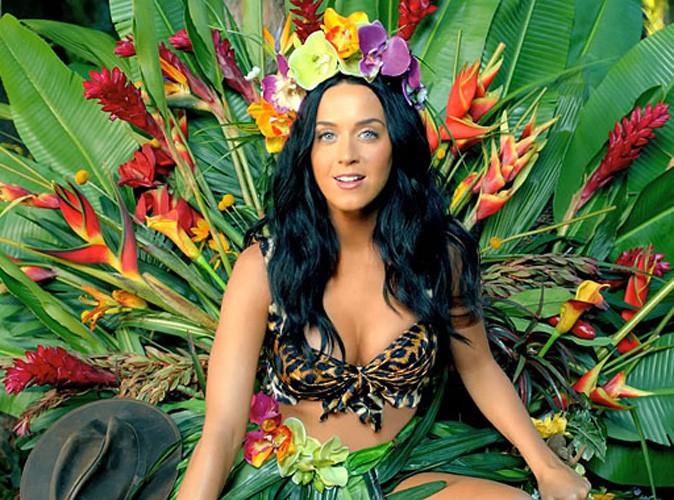 """Vidéo : Katy Perry : reine de la jungle torride, déjantée et rugissante dans le clip de """"Roar"""" !"""