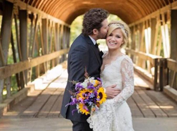 Vidéo : Kelly Clarkson : la chanteuse américaine vous invite dans les coulisses de son mariage so romantique !