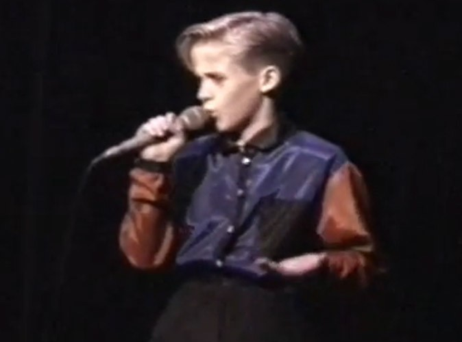 Video : Ryan Gosling : déjà un adorable showman à 10 ans !
