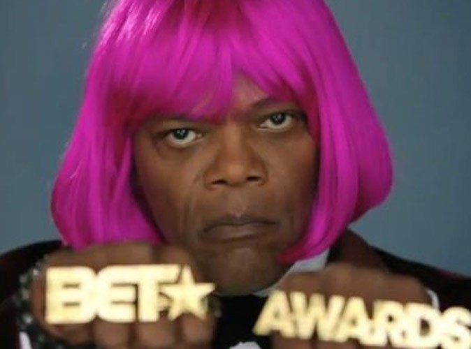Vidéo : Samuel L. Jackson : l'acteur se prend pour Nicki Minaj !