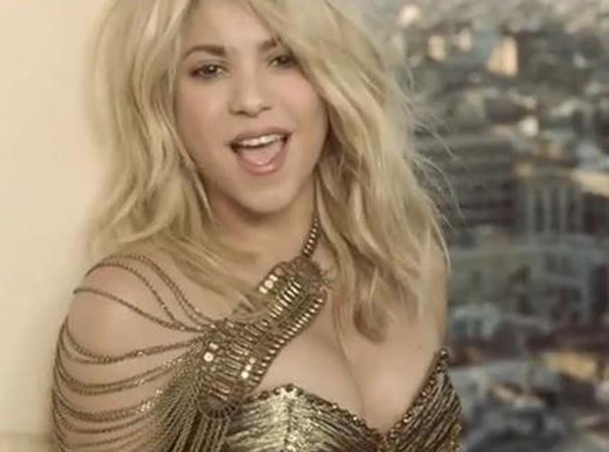 Vidéo : Shakira : soutien de charme de Pitbull dans le clip de Get It Started !