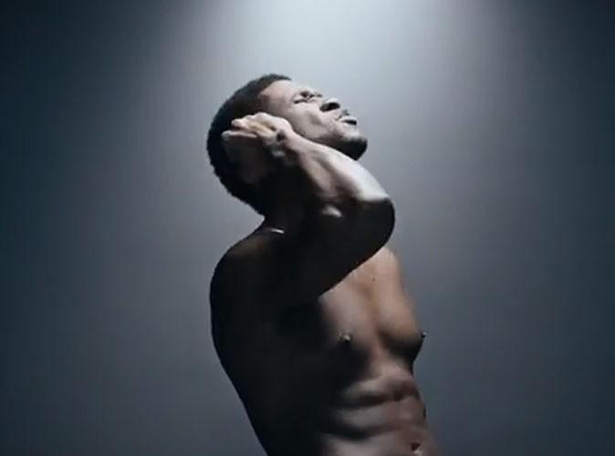 """Vidéo : Usher : il fait tomber le haut pour le clip de son nouveau single, """"Good Kisser"""" !"""