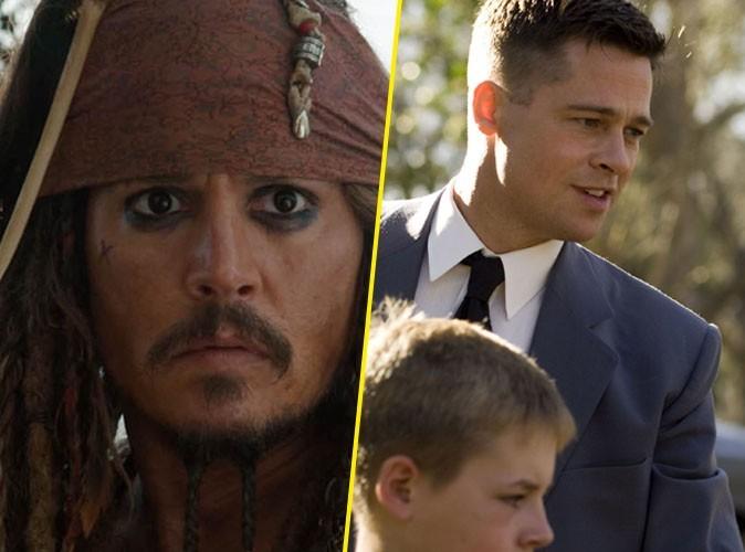 Vidéos : Brad Pitt et Johnny Depp au cinéma ce week-end !