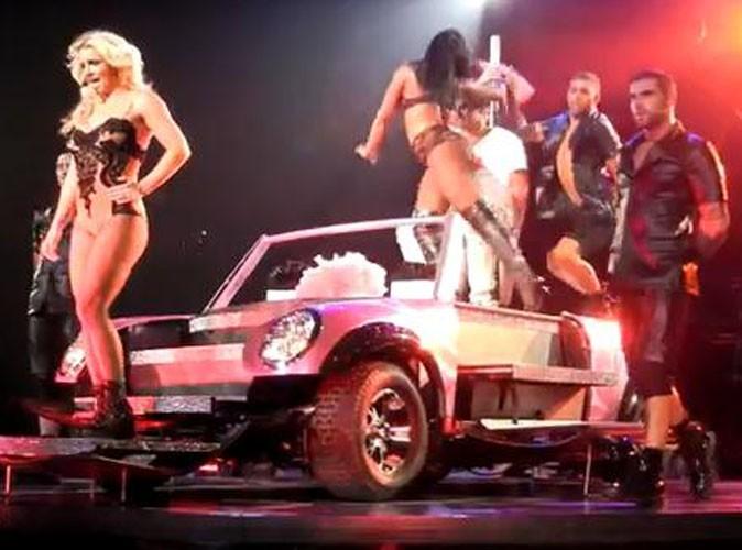 Vidéos : Britney Spears se met à la mode du lap dance pour sa nouvelle tournée !