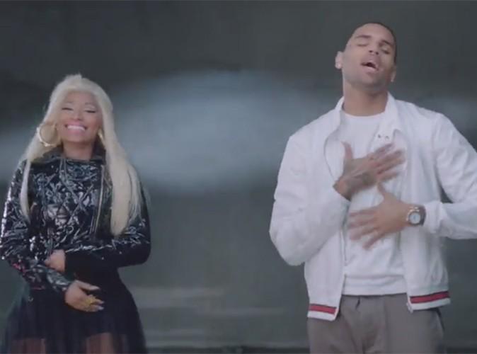 Vidéos : Nicki Minaj et Chris Brown : découvrez leur duo sexy !