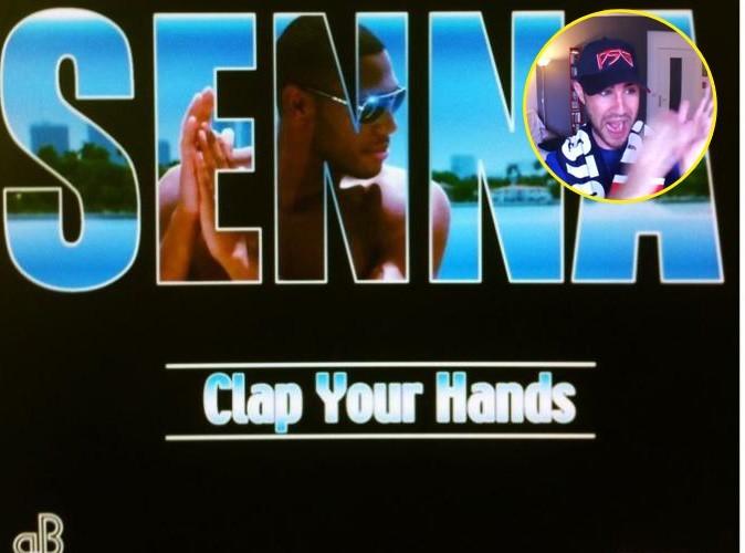 Vidéos : Senna : critiqué par Cyprien pour le clip de Clap Your Hands, il lui répond avec humour !