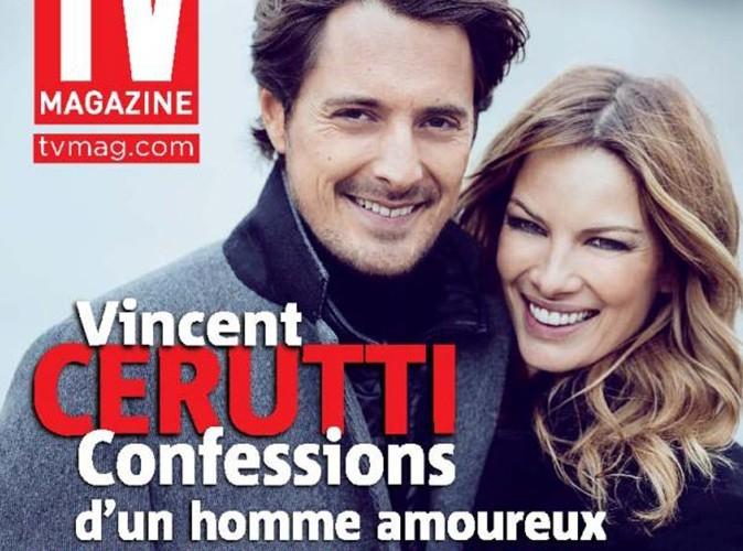 Vincent Cerutti : fou amoureux, il s'expose en couverture avec sa compagne, Lavinia !