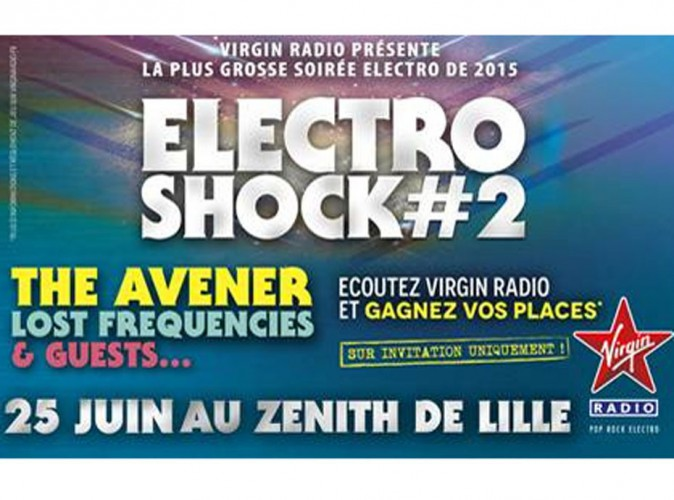 Virgin Radio réunit le meilleur de l'électro pour sa soirée ElectroShock #2... Gagnez vos places !