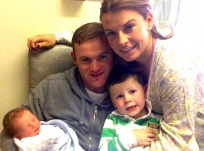 Wayne et Coleen Rooney : le footballeur anglais et son épouse sont parents pour la seconde fois !