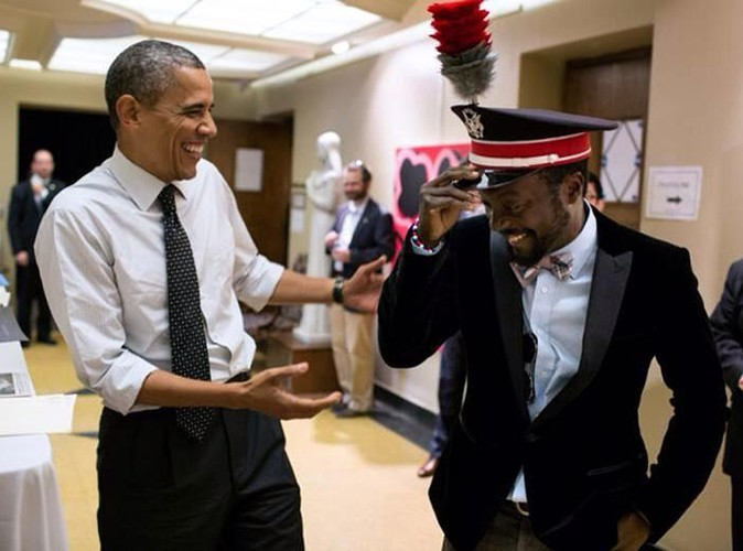 Will.I.Am : le leader des Black Eyed Peas s'éclate avec Barack Obama !