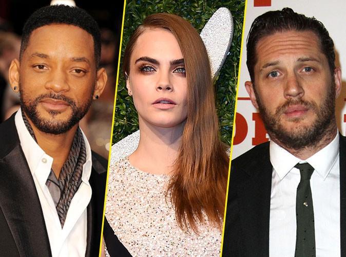Will Smith, Cara Delevingne et Tom Hardy : des méchants confirmés pour Suicide Squad !