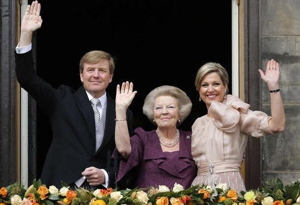 Willem-Alexander, nouveau Roi des Pays-Bas !