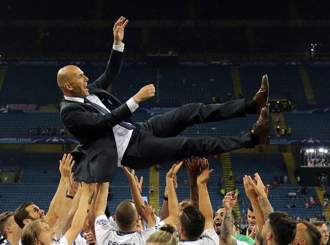 Zidane : 5,5 millions d'euros... rien que ça !