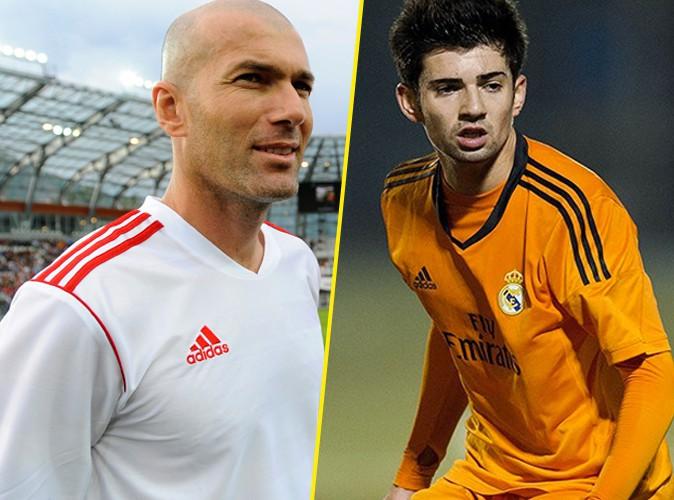 """Zinedine Zidane à propos de son fils Enzo : """"Je suis fier, comme mon papa l'était pour moi !"""""""