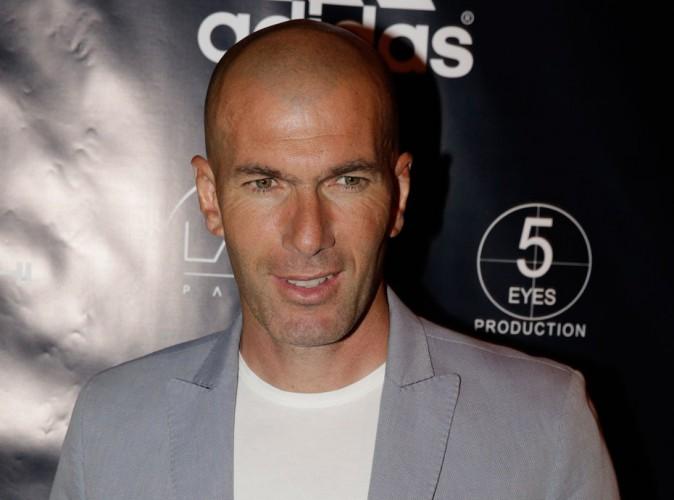 """Zinédine Zidane à propos de son fils Luca : """"Je suis un petit peu jaloux"""" !"""