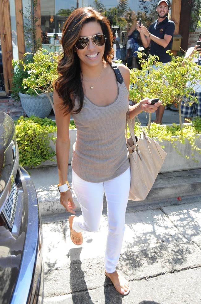 Eva Longoria le 2 août 2012 à Los Angeles