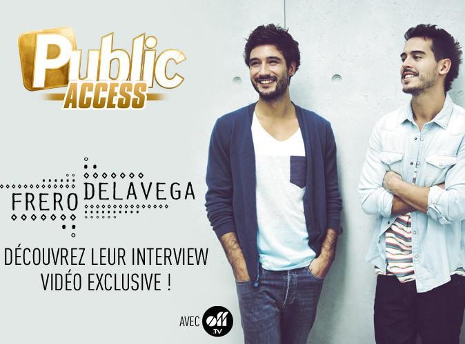 Exclu Vidéo : Les Frero Delavega : découvrez l'interview vidéo exclusive et décalée du fameux duo !