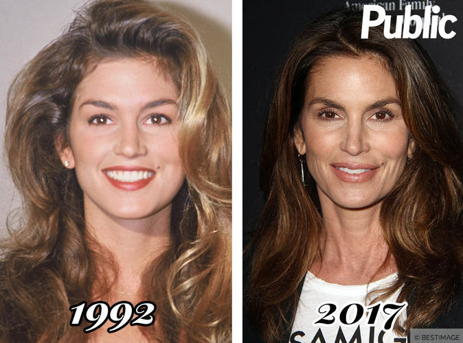 Cindy Crawford : sa transformation physique !