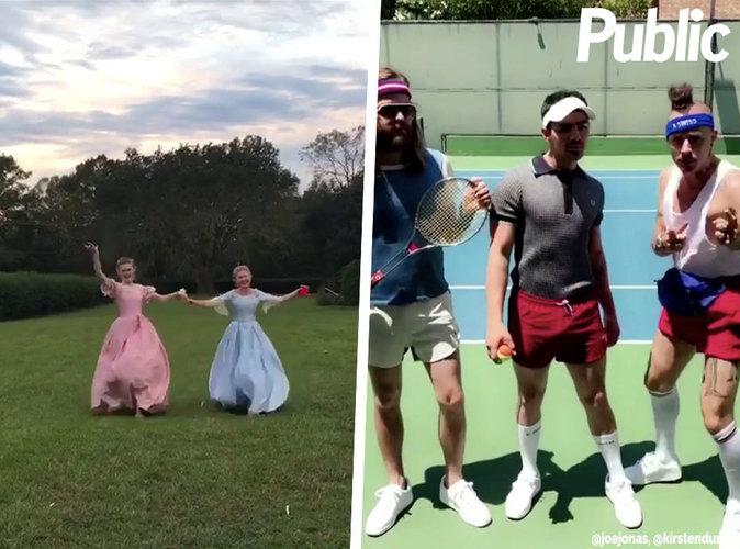 Kirsten Dunst et Joe Jonas : leur vidéo délire sur Instagram !