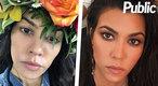 Vidéo : Kourtney Kardashian : plus jolie au naturel ?