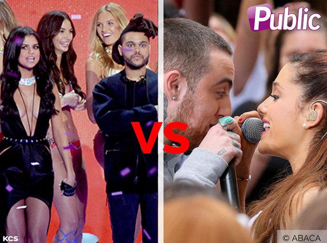 Selena Gomez/The Weeknd VS Ariana Grande/Mac Miller : qui forme le couple le plus cute ?