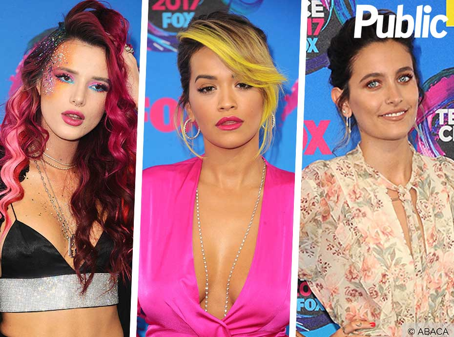 Bella Thorne, Rita Ora, Paris Jackson... Elles ont illuminé les Teen Choice Awards 2017 !