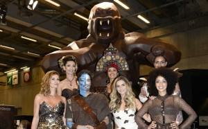 Exclu Vidéo: défilé d'ouverture du salon du chocolat 2014