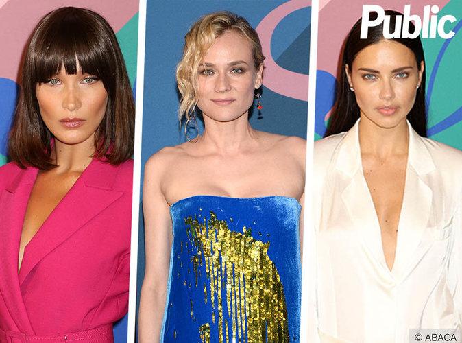 Bella Hadid, Diane Kruger, Adriana Lima... Elles étaient toutes resplendissantes aux CFDA Awards 2017 !
