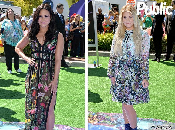 Demi Lovato VS Meghan Trainor : qui est la plus jolie en robe fleurie ?