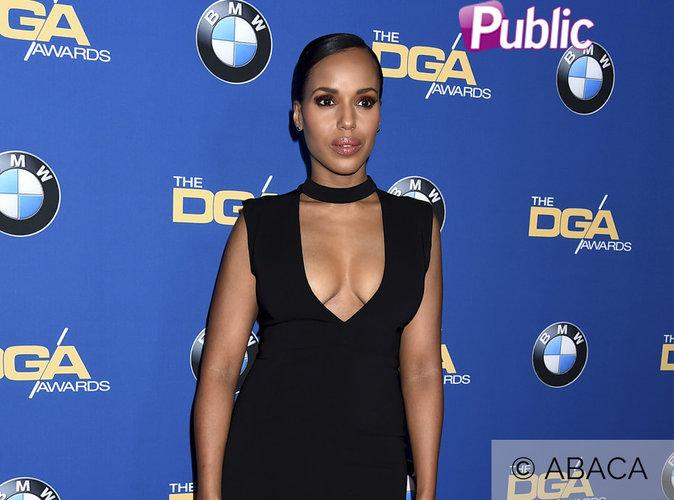 Kerry Washington : Meneuse glamour au décolleté XXL pour les DGA Awards !
