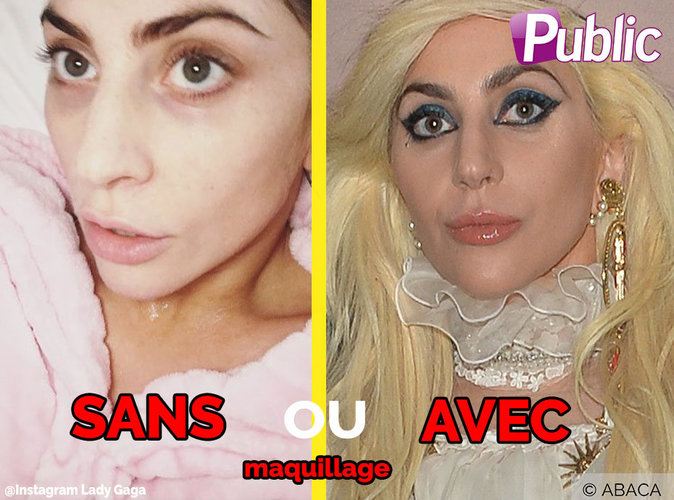 Lady Gaga : plus jolie au naturel ?