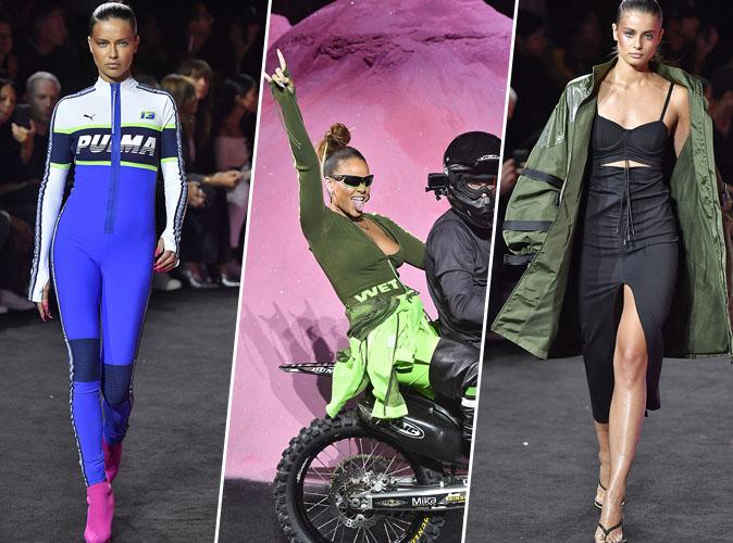 Fashion Week de New York : Rihanna s'offre Adriana Lima et Taylor Hill pour le défilé Fenty x Puma !