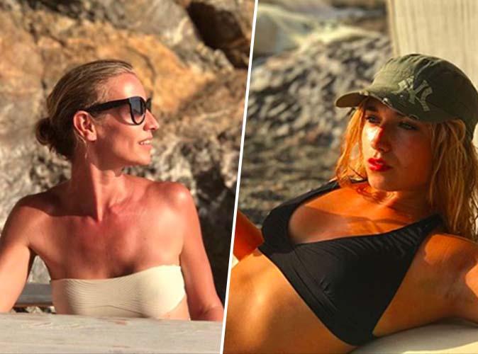 Alexandra Lamy : Battle de bikini avec sa fille Chloé !