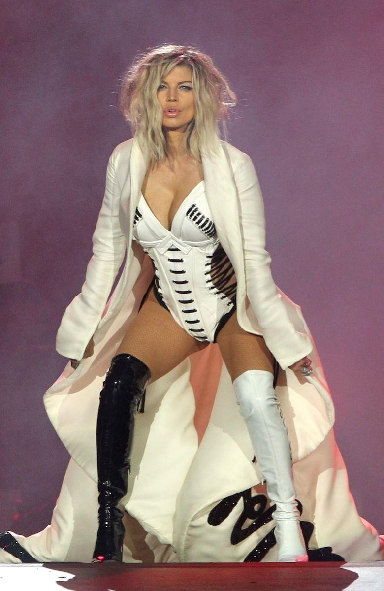 Fergie : Fraîchement séparée, elle donne tout sur scène pour oublier !