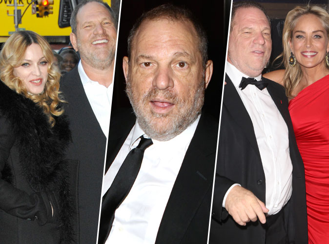 Harvey Weinstein : Madonna, Sharon Stone.... Ses rencontres avec les stars